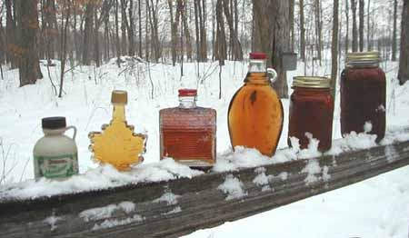If You Would Like To Purchase Syrup When Visit The Following Selections Are Available During Season